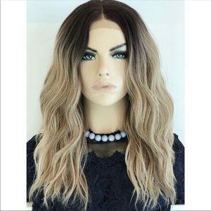 16 inch ombré wig
